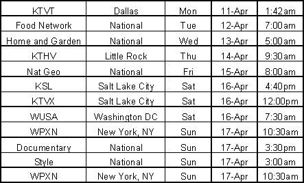 Creatopia schedule